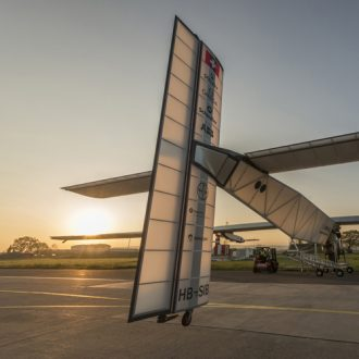 Solar Impulse 2 First outdoor technical tests