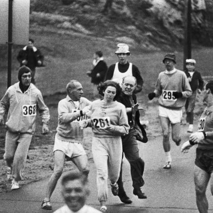 Kathrine Switzer, Boston Marathon 1967